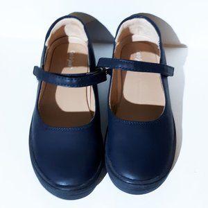 Cat & Jack Navy Blue Omega Mary Jane Shoes Size 2